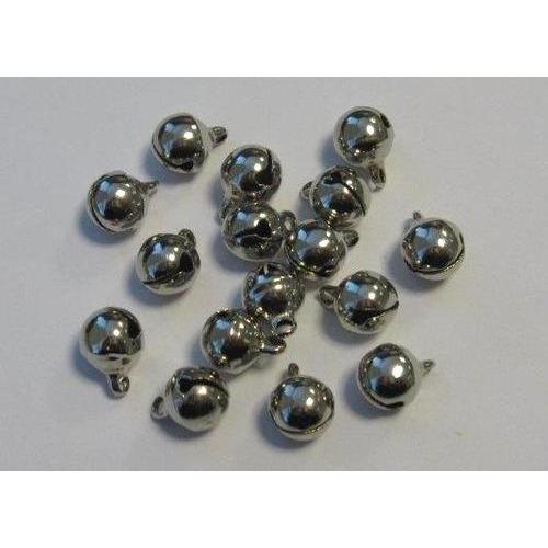 1 ST (1ST) Sieraden belletjes zilver 8 mm 16 ST