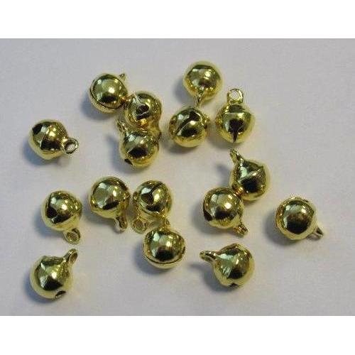 1 ST (1ST) Sieraden belletjes goudkleur 8 mm 16 ST