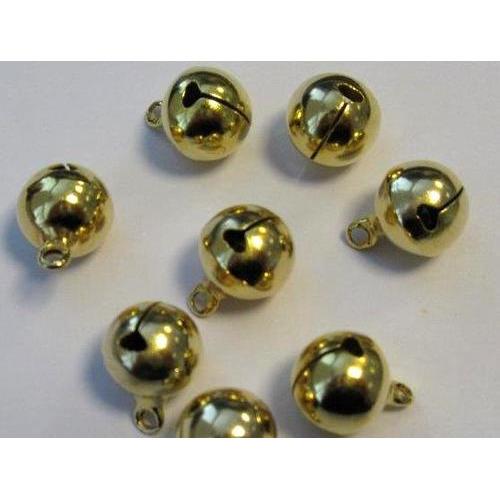 1 ST (1ST) Sieraden belletjes goudkleur 12 mm 8 ST