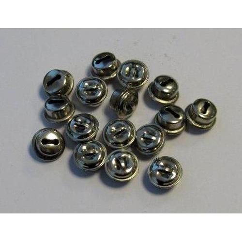 1 ST (1ST) Kattebelletjes zilver 10 mm 16 ST