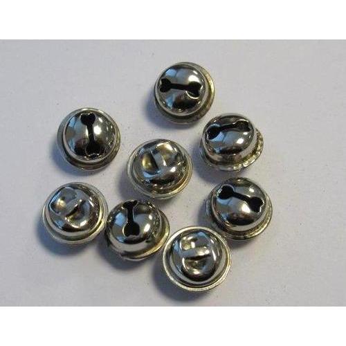 1 ST (1ST) Kattebelletjes zilver 15 mm 8 ST