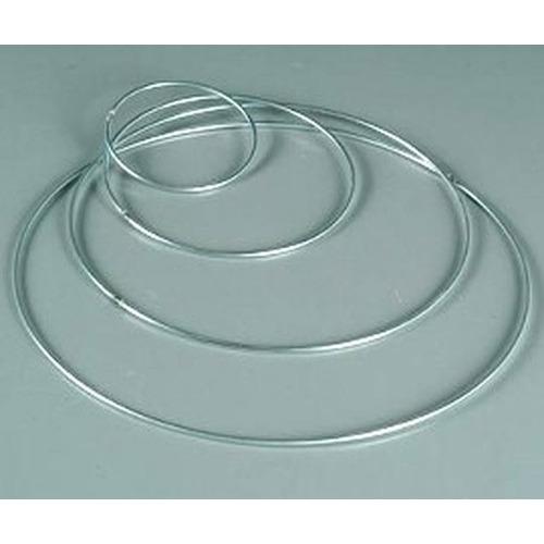 1 ST (1 ST) Ring metaal 4mm - 45 cm