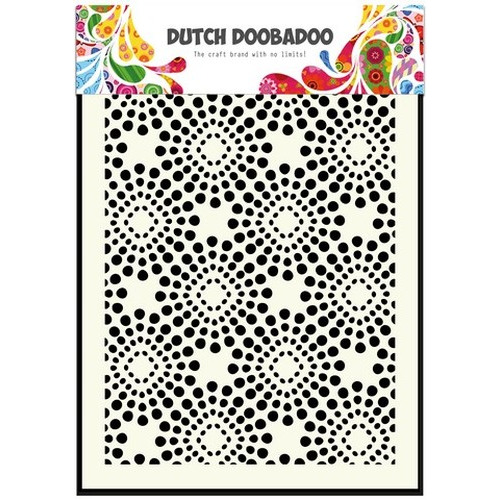 Dutch Doobadoo Dutch Mask Art stencil Grunge A5 470.715.032 (new 05-2015)