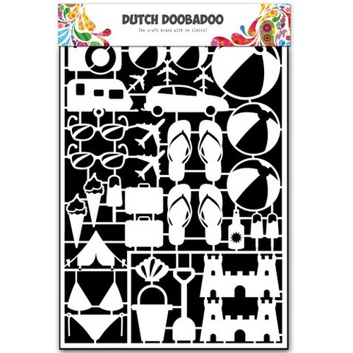Dutch Doobadoo Dutch Paper Art vakantie A5 472.948.026 (new 05-2015)