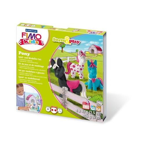 Fimo kids Form&Play Pony