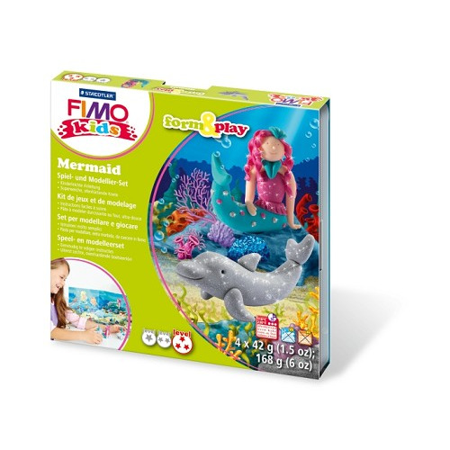 Fimo kids Form&Play Zeemeermin