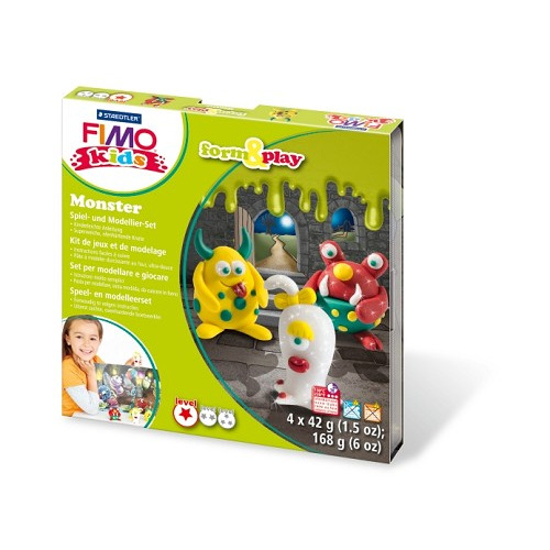 Fimo kids Form&Play Monster