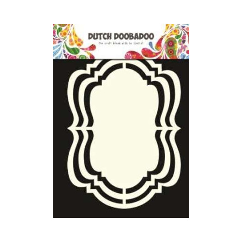 Dutch Doobadoo Dutch Shape Art frames ornament A5