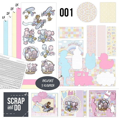 Scrap and Do 1 - Baby