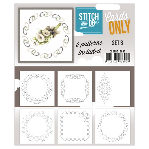 Stitch & Do - Cards only - set 3