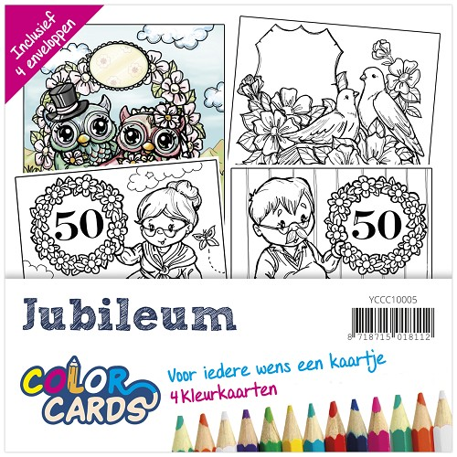 Color Cards 5 - Yvonne Creations - Jubileum