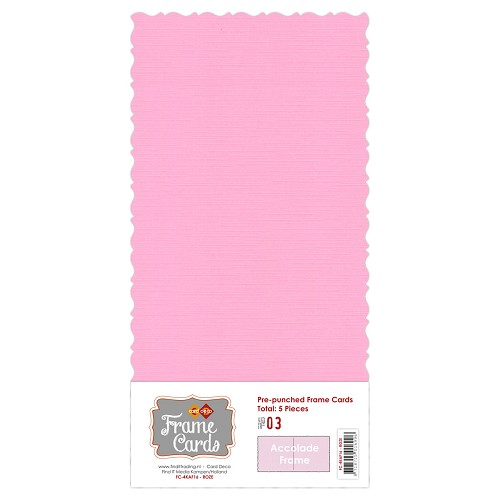 Frame Cards - Accolade - Vierkant - Roze