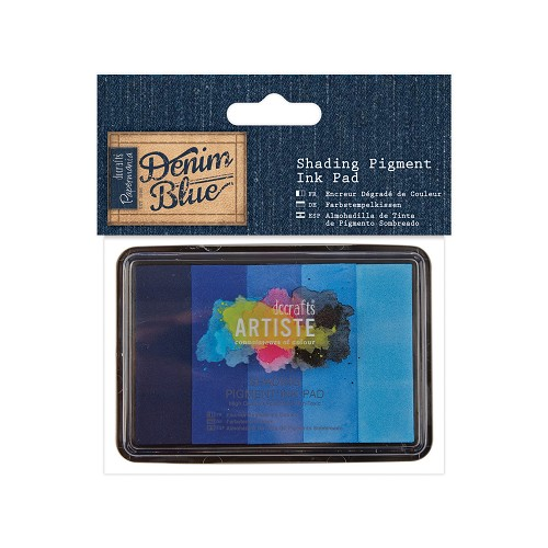 Shading Pigment Ink Pad (5pk) - Denim Blue