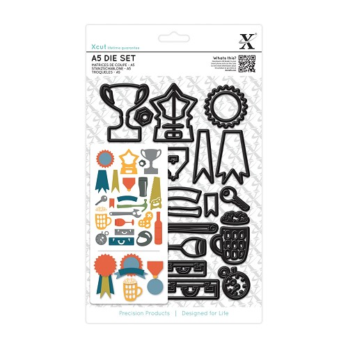 A5 Die Set (21pcs) - Icons
