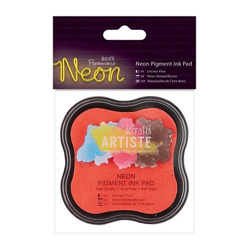 Neon Pigment Ink Pad - Pink
