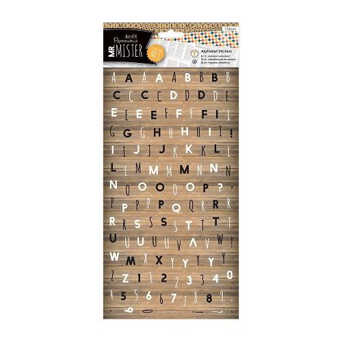 Alphabet Stickers (133 pcs) - Mr Mister