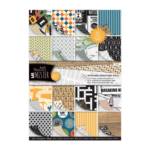 A4 Double Sided Paper Pack (24pk) - Mr Mister