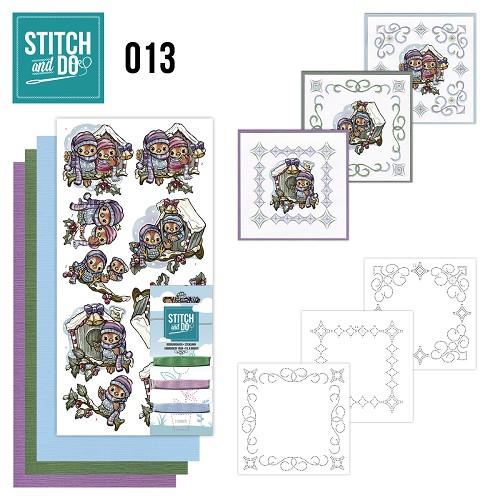 Stitch and Do 13 - Vogelhuisjes
