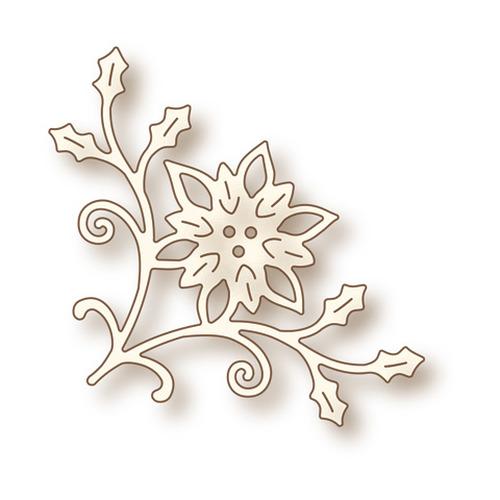 Wild Rose Studio's Specialty die - Poinsettia Corner SD033