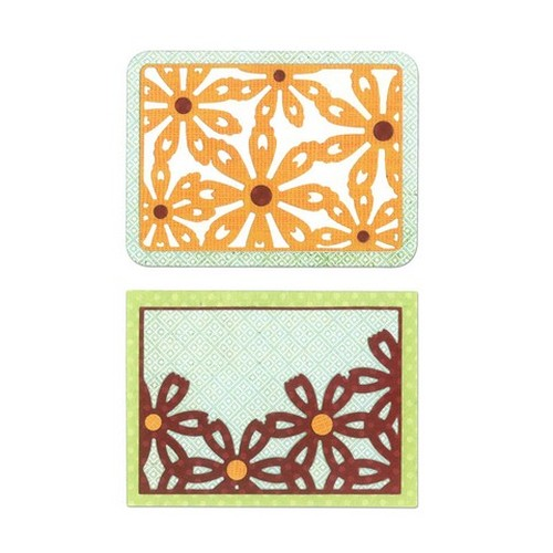 Sizzix Thinlits Die Set 6PK - Flower Cards 659974 Everyday Memories ( 09-14 )