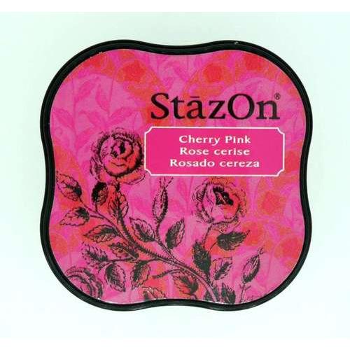 Stazon inktkussen Midi Cherry pink SZ-MID-81