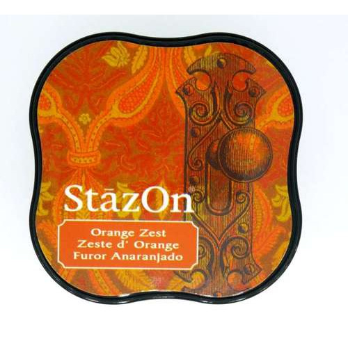 Stazon inktkussen Midi Orange Zest SZ-MID-71