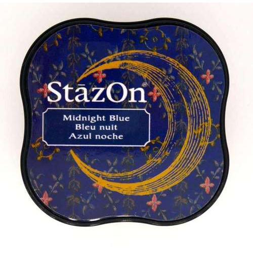 Stazon inktkussen Midi Midnight blue SZ-MID-62