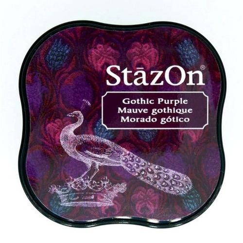 Stazon inktkussen Midi Gothic purple SZ-MID-13
