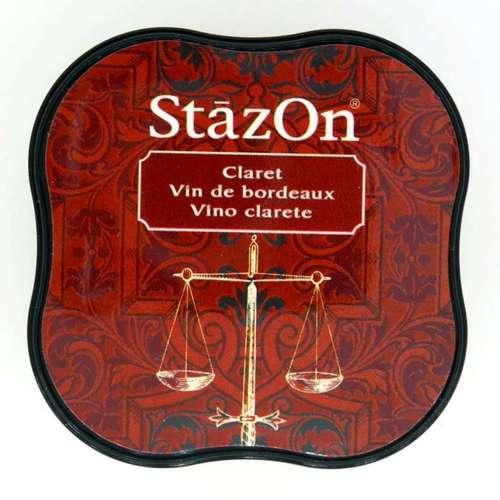 Stazon inktkussen Midi Claret SZ-MID-23