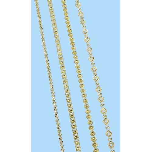 CREApop® Decolint Design III, ca. 9 m, goud