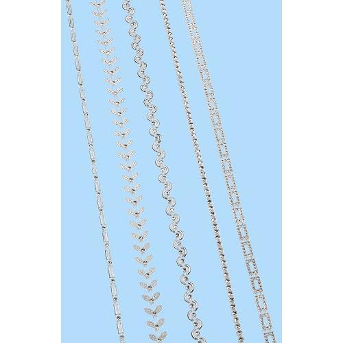 CREApop® Decolint Design X, ca. 9 m, zilver