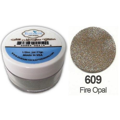1 PT (1 PT) Silk Microfine Glitter  Fire Opal 11gr