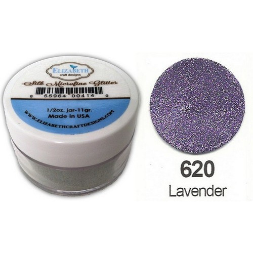 1 PT (1 PT) Silk Microfine Glitter  Lavender 11gr
