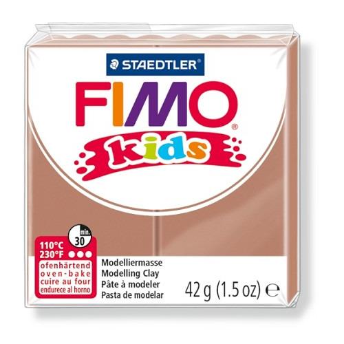 Fimo kids boetseerklei 42 g licht bruin