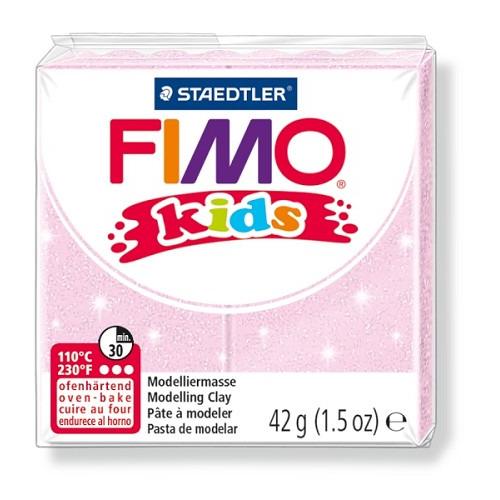 Fimo kids boetseerklei 42 g lichtrose