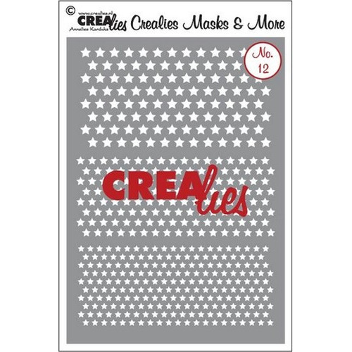 Crealies Masks & More no. 12 (plastic) CLMM12
