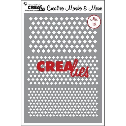 Crealies Masks & More no. 13 (plastic) CLMM13