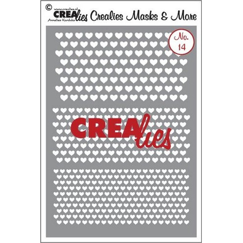 Crealies Masks & More no. 14 (plastic) CLMM14