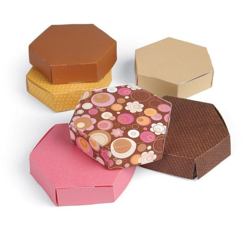 Sizzix Bigz L Die - Box, Hexagon 659942 Where W. Cook ( 01-15 )