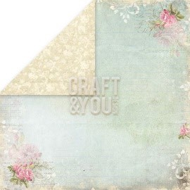 "CP-WG04 Wedding Garden Scrapbooking single paper 12""x12"""