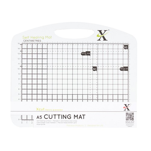 A5 Self Healing Duo Cutting Mat - Black & White