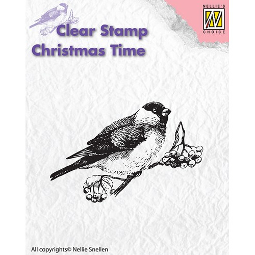 Clear stamps - Christmas Time - Bird