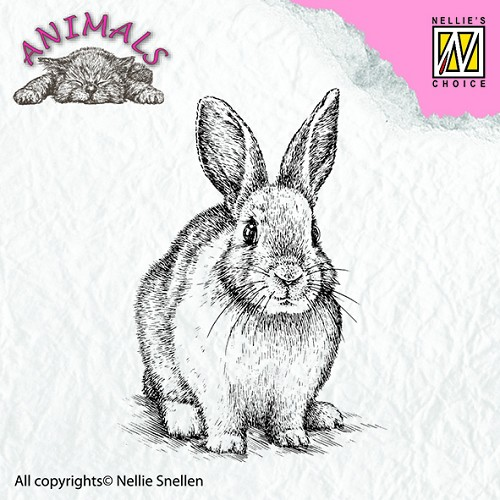 Clear stamps - Animals - Rabbit