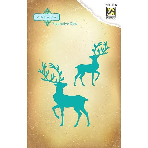 Dies Vintasia animals - Reindeer