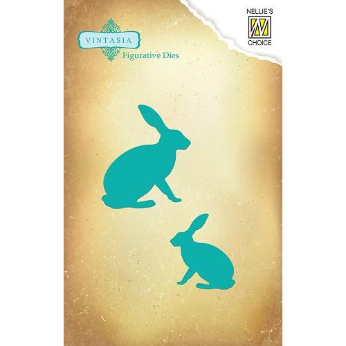 Dies Vintasia animals - Hares