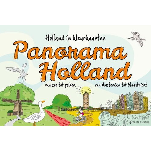 Forte Boek Panorama Holland (05-15)