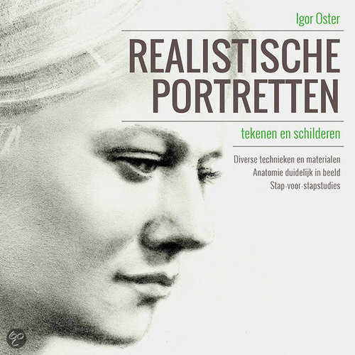 Kosmos Boek - Realistische portretten tekenen Igor Oster (03-15)