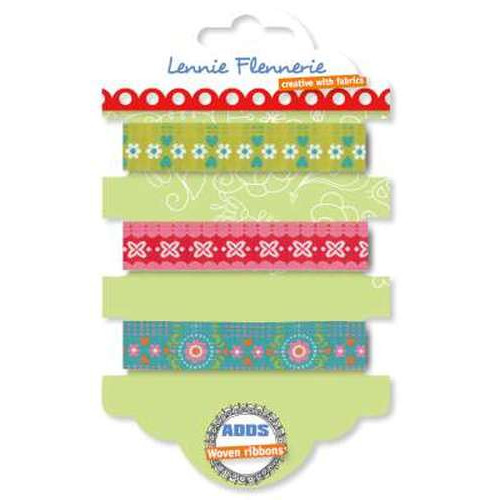 Lennie Flennerie - Adds - Graphic Flower Ribbons 3 stuk 203.302.001 (new 02-2015)