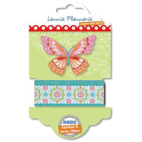 Lennie Flennerie - Adds - Applique + Ribbon Butterfly 203.303.001 (new 02-2015)
