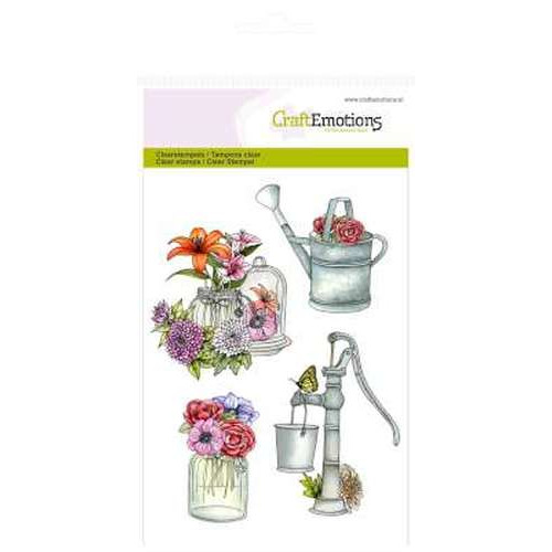 CraftEmotions clearstamps A6 - pomp gieter Botanical Summer